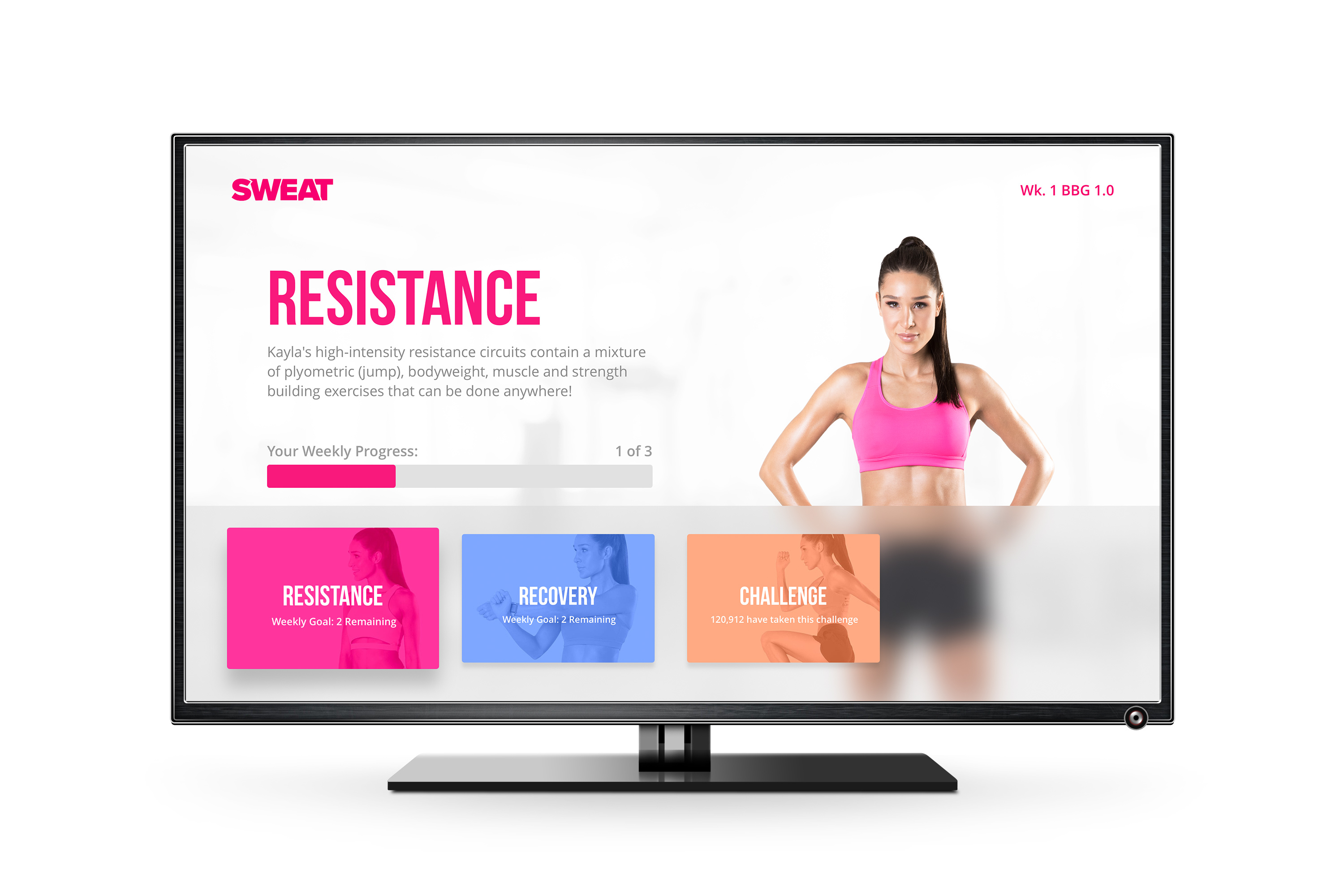Sweat Named Apple TV App of the Year | GymClick Media | Fitness