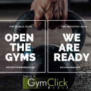 Image explaining that gyms are ready to open