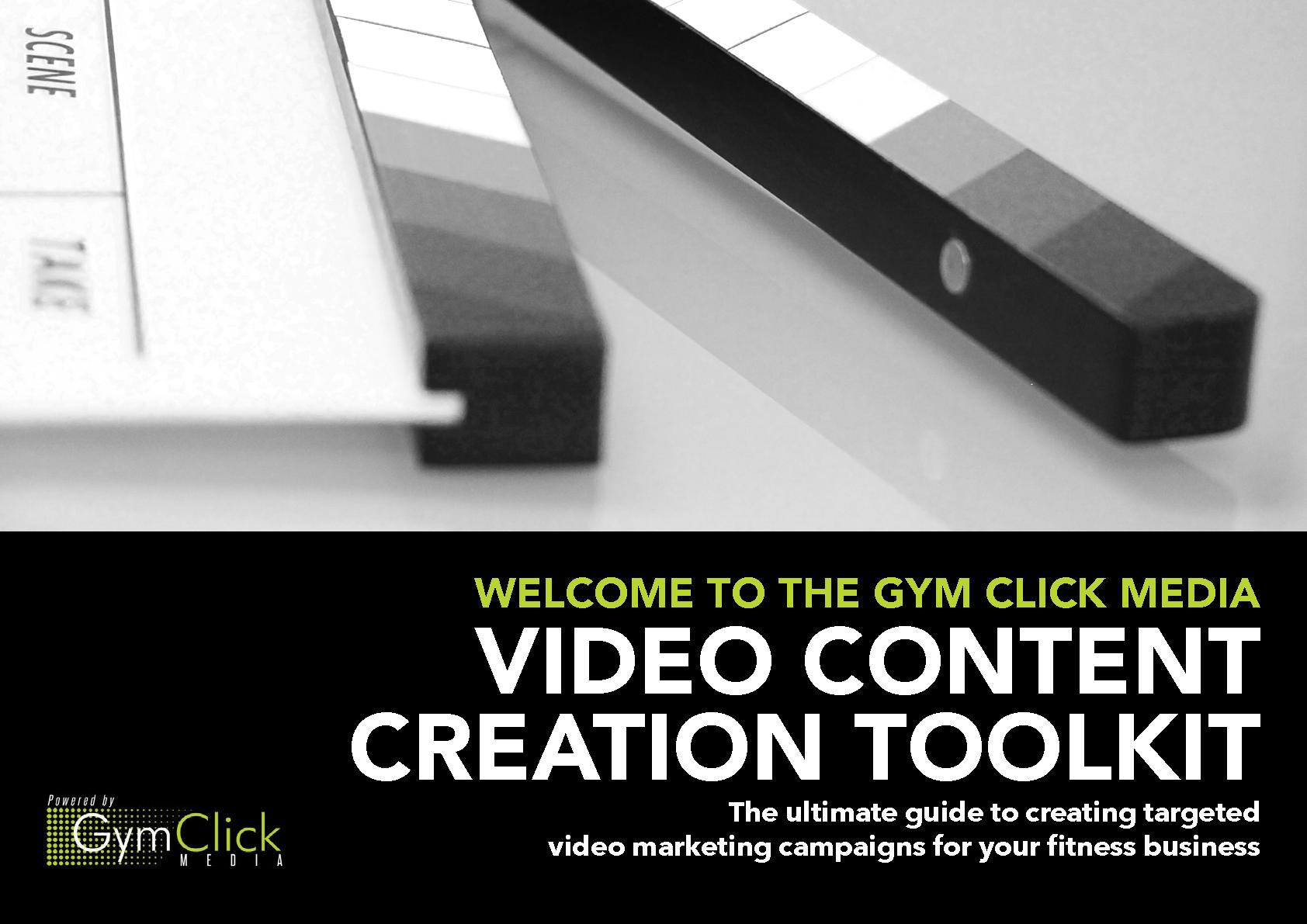 Gym Click Media Video Toolkit PDF